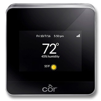 Côr<sup></noscript>®</sup> Thermostat.