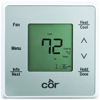 Côr<sup></noscript>®</sup> 5 Thermostat.