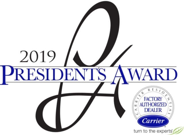 2019 Carrier President's Award.