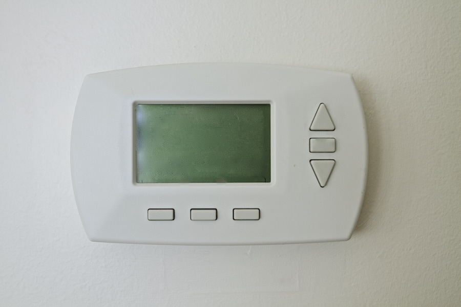 Blank thermostat.